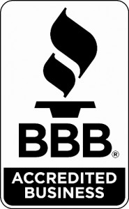 Accredited Business Seal in Black